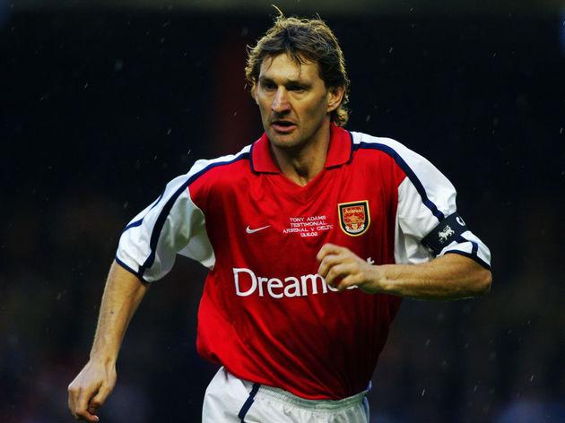 Tony Adams of Arsenal