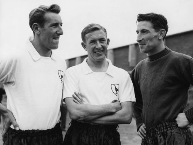 Tony Marchi, Danny Blanchflower And Bill Brown
