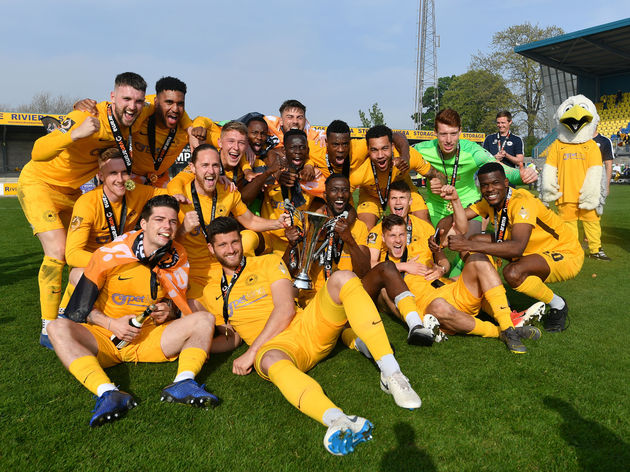 Torquay United v Hungerford Town - Vanarama National League South