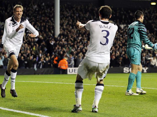 Tottenham Hotspur's English striker Pete