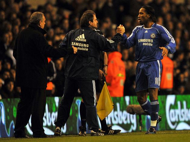 Didier Drogba,Steve Clarke