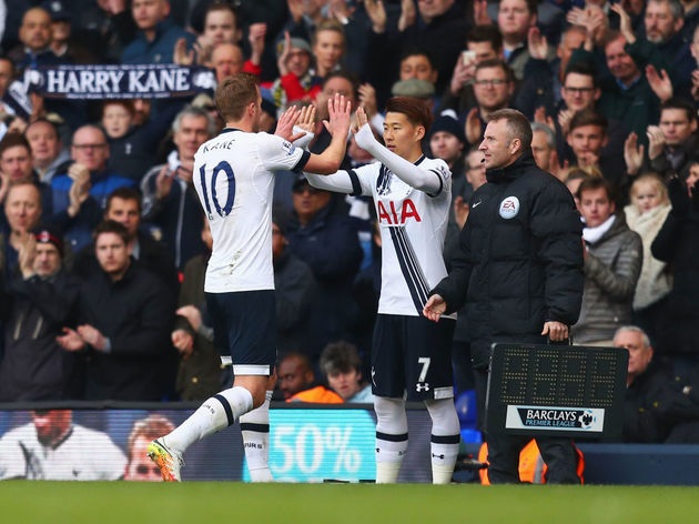 Harry Kane,Son Heung-min