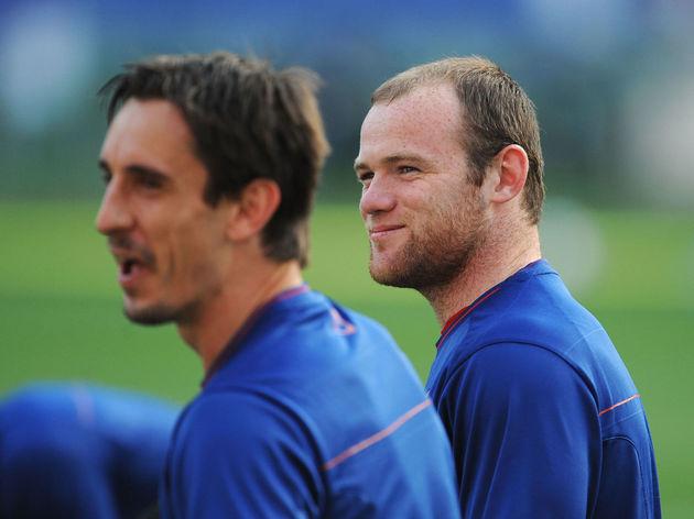 Wayne Rooney,Gary Neville