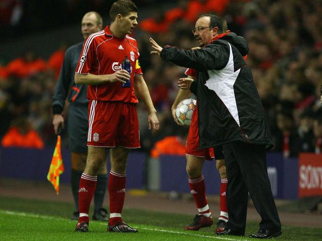 Steven Gerrard,Rafael Benitez