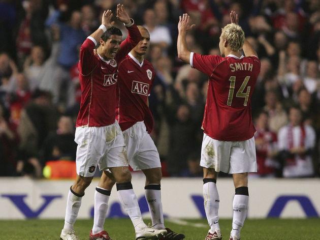 Cristiano Ronaldo,Alan Smith