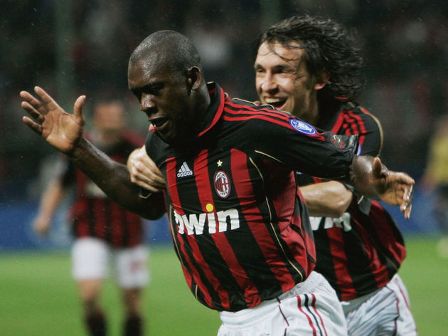 Clarence Seedorf,Andrea Pirlo