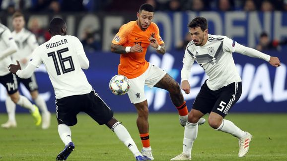 "UEFA Nations League A group 1""Germany v The Netherlands"""