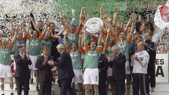 Werder Bremen Crowned Bundesliga Champions