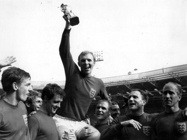Bobby Moore,Geoff Hurst,Bobby Charlton