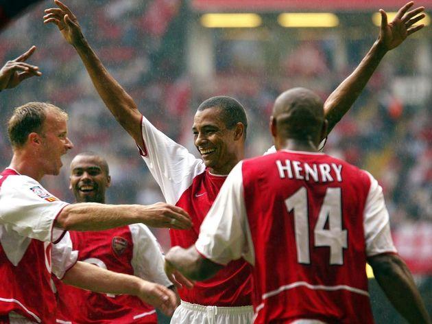 Thierry Henry,Dennis Bergkamp,Ashley Cole,Gilberto Silva