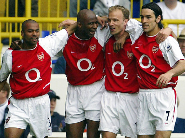 Arsenal's French captain Patrick Vieira