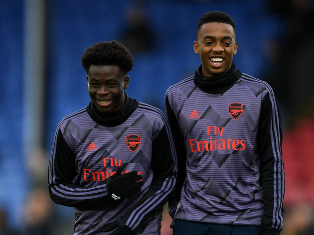 Bukayo Saka,Joe Willock