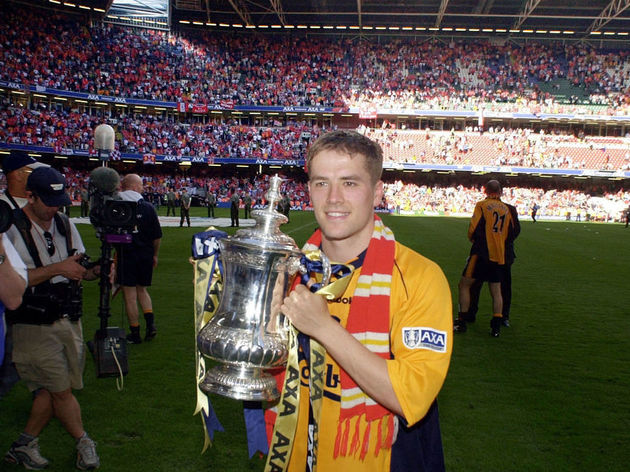 FA Cup Final at the Millennium Stadium, Cardiff 2001