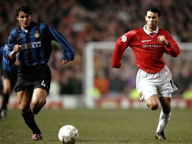 Javier Zanetti and Ryan Giggs