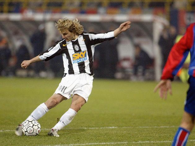 Juventus Czech midfielder Pavel Nedved s