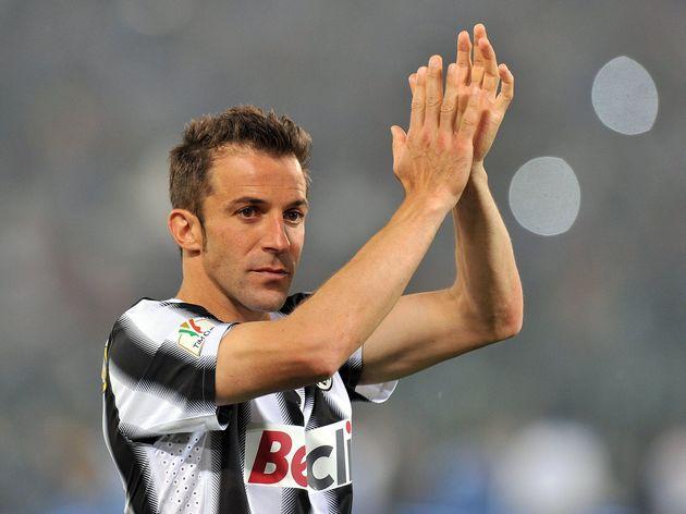Juventus' forward Alessandro Del Piero s