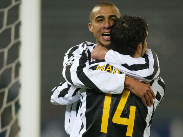 Juventus striker David Trezeguet of Fran