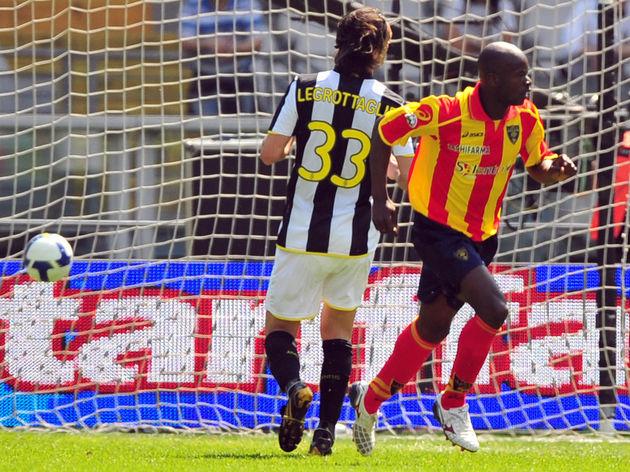Lecce Ivorian forward Axel Cedric Konan