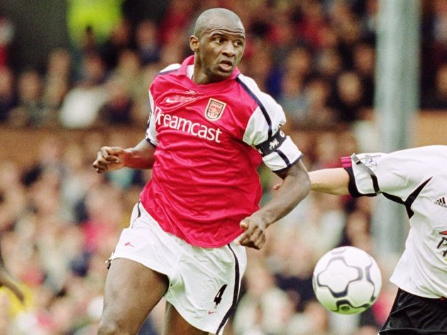Patrick Vieira and Sean Davis