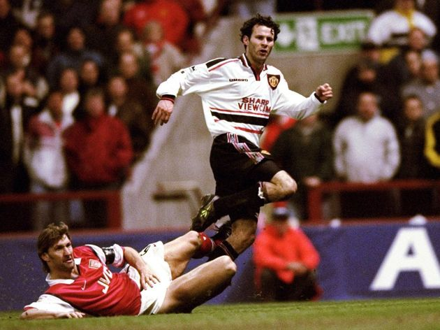 Ryan Giggs of Manchester United