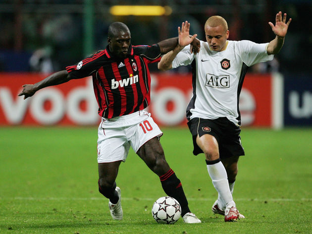 Clarence Seedorf,Wes Brown
